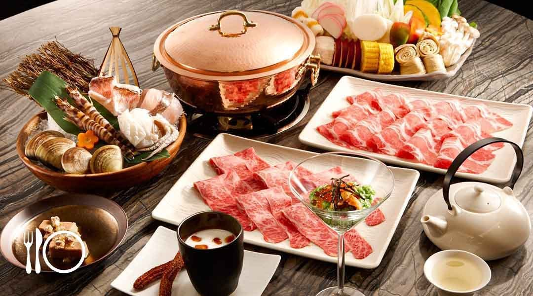 hotpot set and meat