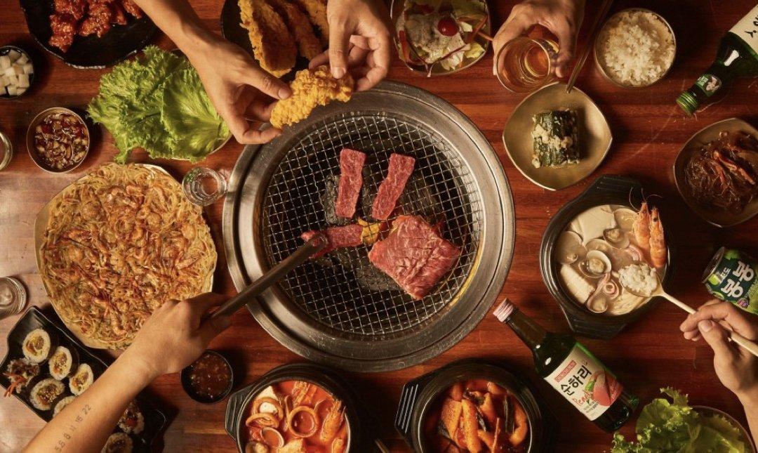 台北聚餐餐廳推薦 meat love 韓式烤肉