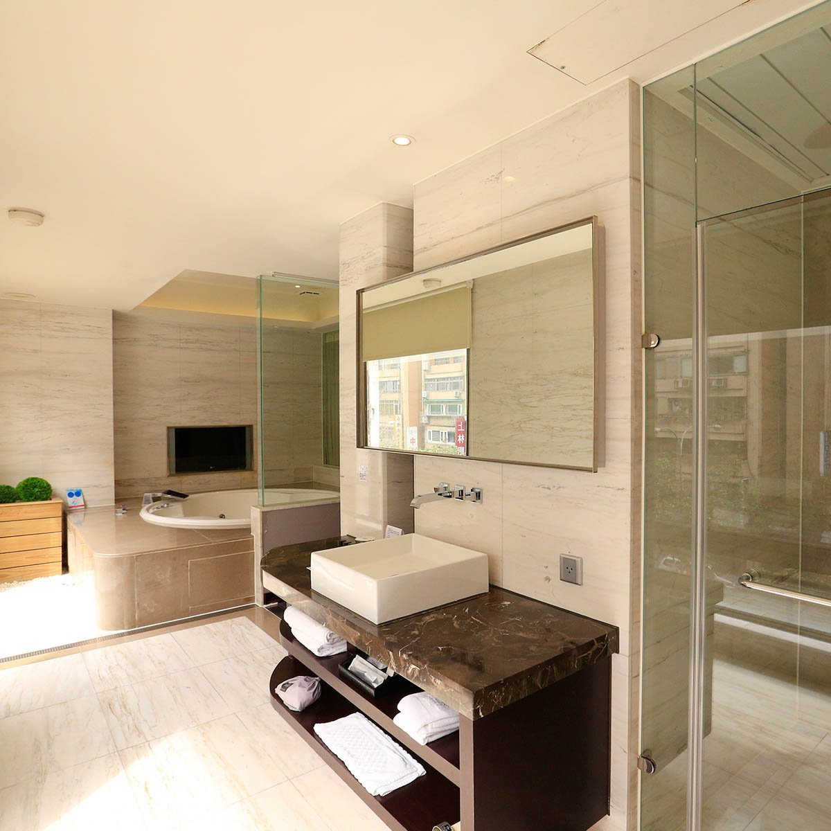 steam-room-and-bathtub