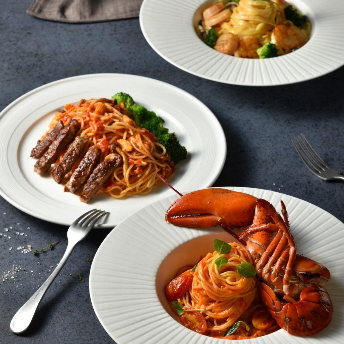 lobster-spaghetti-and-beef-spaghetti