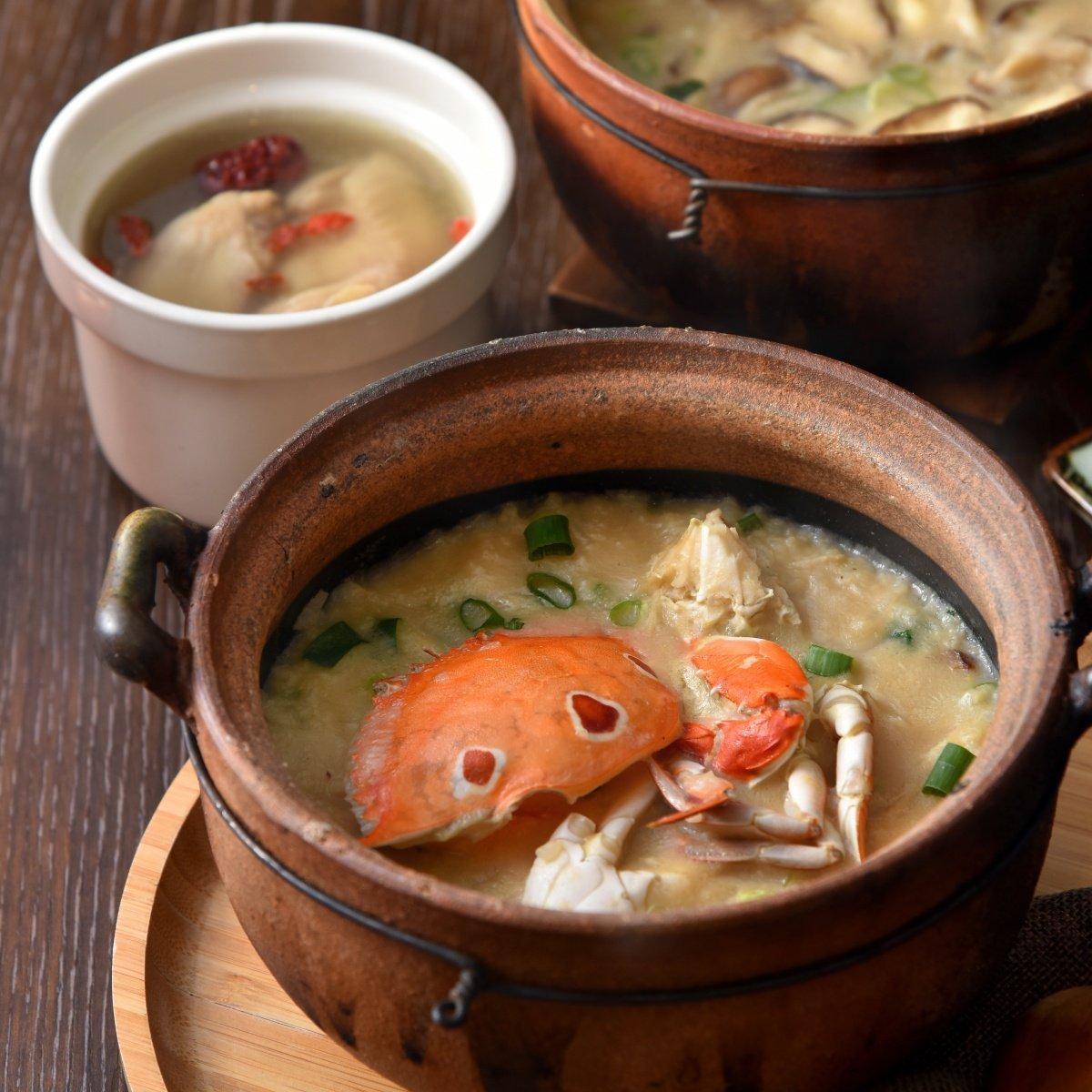 crab-congee